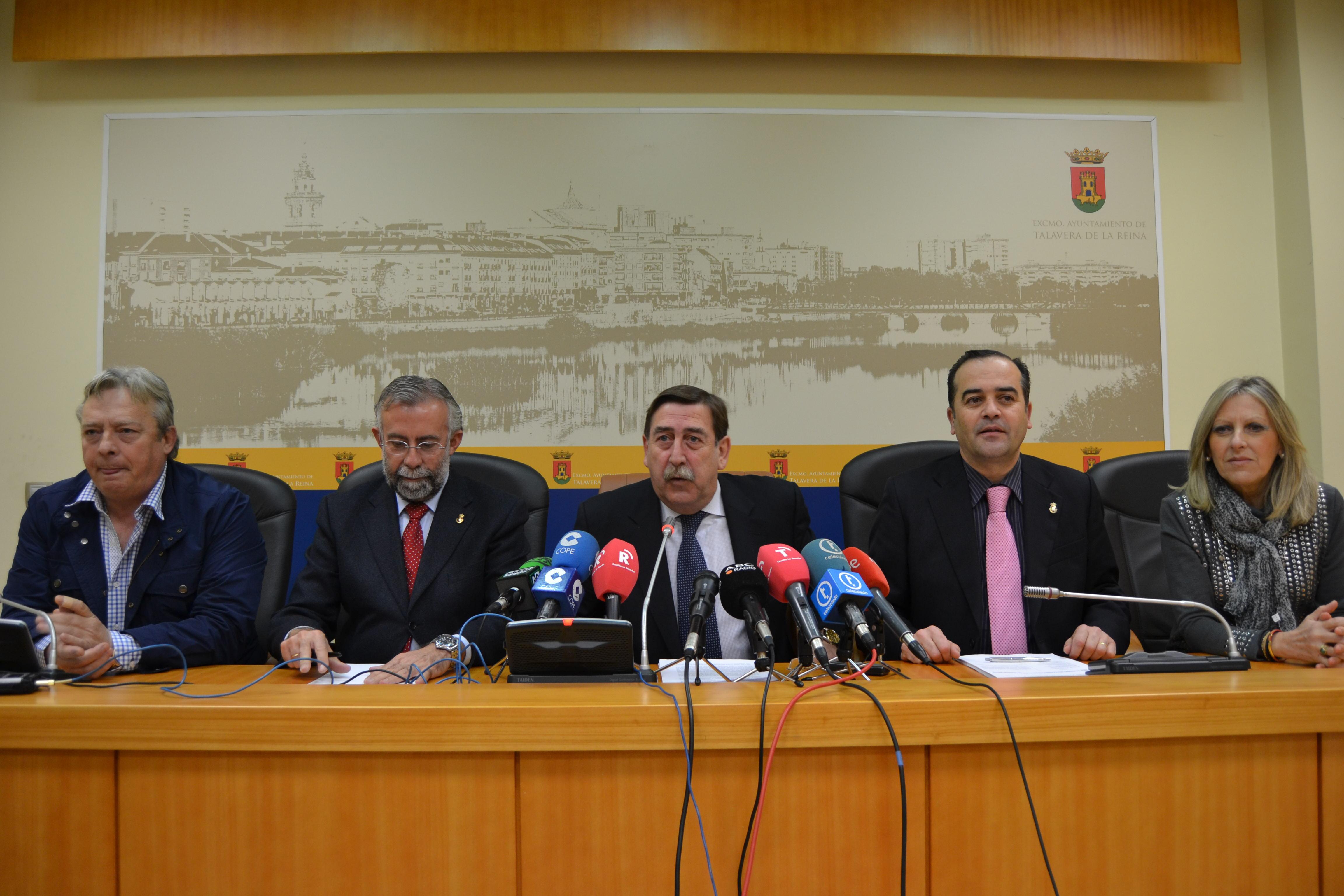 El Alcalde califica las cuentas del Ayuntamiento de Talavera de paisaje desolador