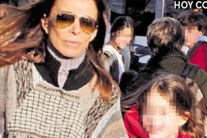 Lydia Bosch y sus hijos abandonan su casa y se van de alquiler