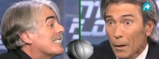 """Lobo Carrasco estalla contra Siro López: """"¡Eres lamentable cuando hablas así!"""""""