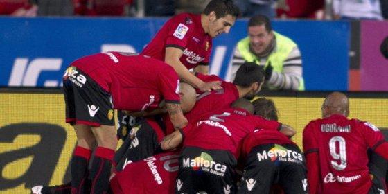 El Mallorca protagoniza una gran remontada contra la Real Sociedad (6-1)