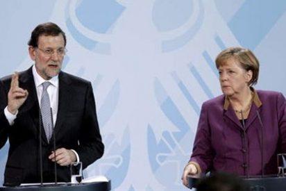 Rajoy se comprometa ante Merkel rebajar el déficit público