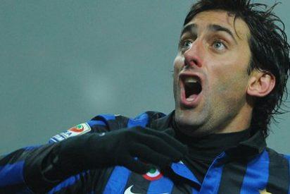 El Inter de Milan gana el derbi ante el Milan con un gol de Diego Milito (0-1)