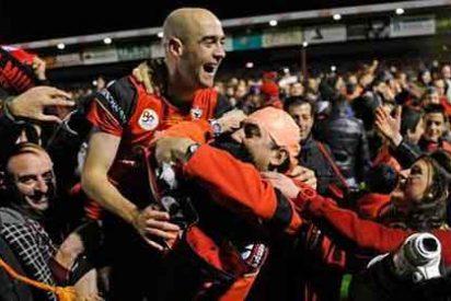 """Manolo Lama vibra en directo con el gol de la victoria del Mirandés: """"¡Viva la madre que te parió, Caneda! ¡Vivan los modestos!"""""""