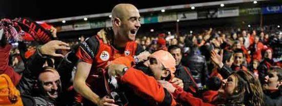 El Mirandés, de 2ªB, hace el milagro y pasa a las semifinales de Copa