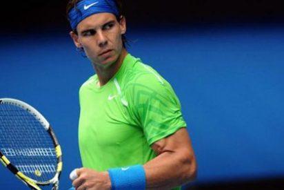 Rafa Nadal solventa por la vía rápida ante Lukas Lacko (6-2, 6-4 y 6-2)