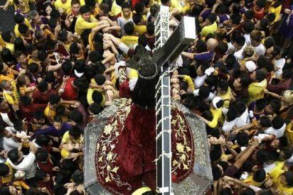 Al menos 76 heridos en una estampida durante una procesión en Filipinas
