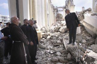 """Nuncio en Haití: """"Incluso nuestros seminaritas están en tiendas"""""""