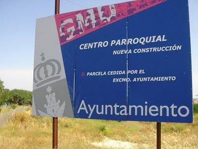 IU pide que el Arzobispado devuelva una parcela de Vicálvaro