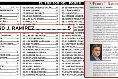 Pedrojota no puede con su ego y se coloca entre los diez más influyentes