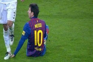 Pepe le pisa la mano a Messi y la lía parda en el Real Madrid-Barça