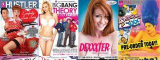 Las parodias porno más salvajes de las series de TV: Sexo duro, cachondeo y decorados cutres