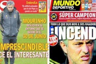"""El diario 'AS' se suma al palo a Mourinho: """"Don imprescindible se hace el interesante"""""""