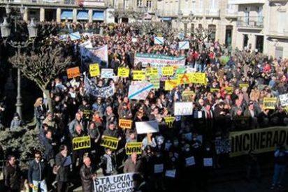 Miles de personas, contra una planta de incineración en Orense