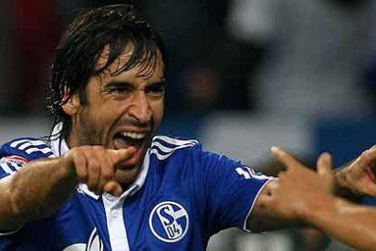 Un gol de 'cuchara' de Raúl, elegido el mejor de 2011 en la Bundesliga
