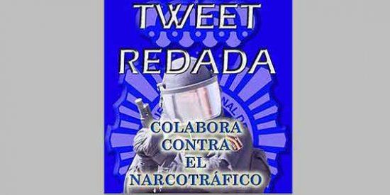 El 'tweetredada' contra el tráfico de drogas de la Policía arrasa en la Red