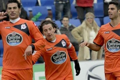 El Deportivo de la Coruña gana y se convierte en el líder de la Liga Adelante