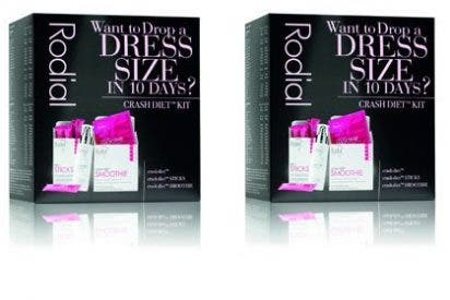¡Pierde una talla en 10 días con KIT Crash Diet de Rodial!