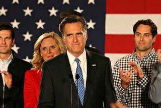 Mitt Romney gana las primarias republicanas en Iowa por solo 8 votos