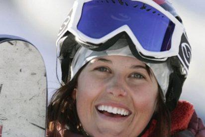 La esquiadora Sarah Burke en coma tras sufrir un accidente entrenando