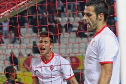 El Sevilla gana pero no le basta para pasar a cuartos ante el Valencia (2-1)