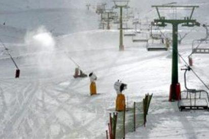Llega por fin la nieve a las pistas de esquí riojanas de Valdezcaray