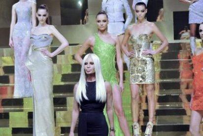 El regreso más futurista de Donatella Versace a la Alta Costura de París