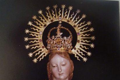 Detenido el ladrón que se llevó la corona y la bola de la Virgen de Fuencisla
