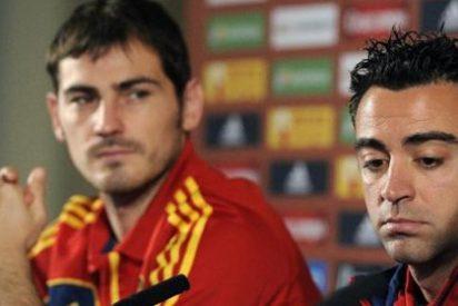 Casillas, Piqué, Xavi e Iniesta en el 'Equipo del año 2011' de la UEFA.com