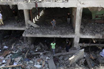 Dos civiles palestinos heridos en una serie de bombardeos israelíes en Gaza
