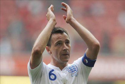 John Terry es destituido como capitán de la selección inglesa de fútbol