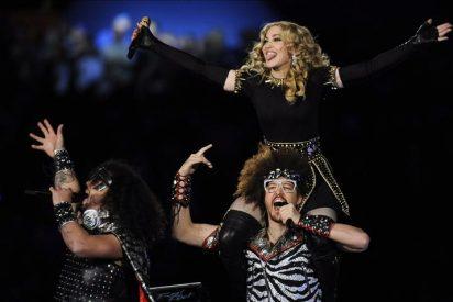 Madonna lució espectacular en la actuación del medio tiempo del Super Bowl