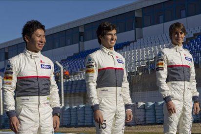 Kobayashi y Pérez, pendientes del Sauber C31 en las pruebas de Jerez