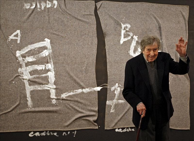 Fallece el pintor Antoni Tàpies a los 88 años