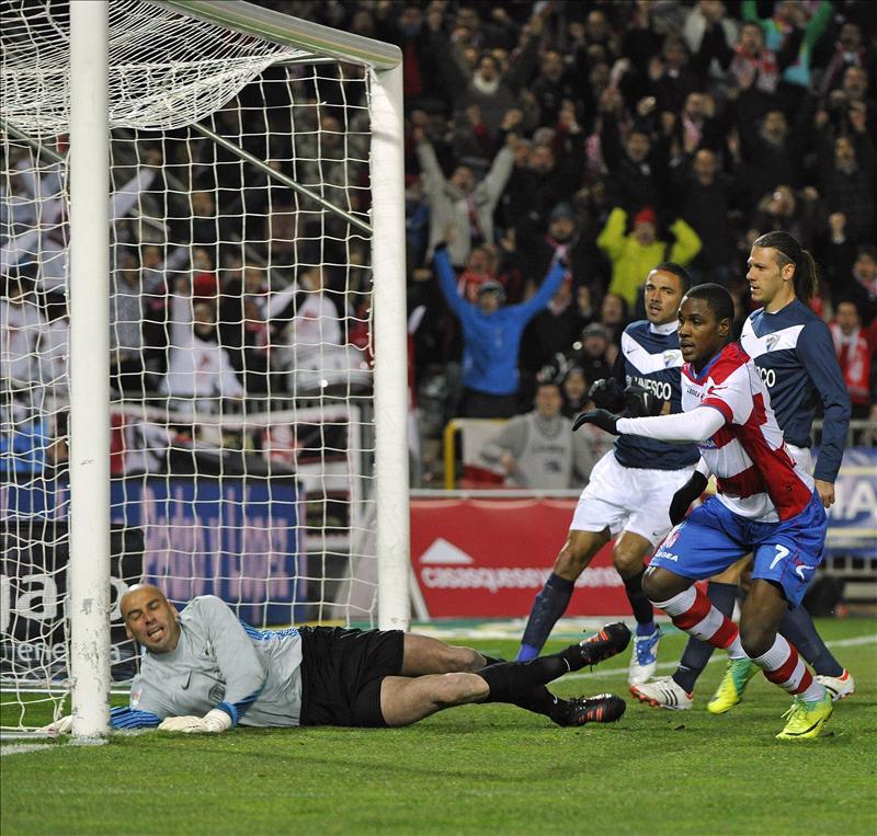 2-1. El Granada enlaza su segunda victoria seguida con Abel a costa del Málaga