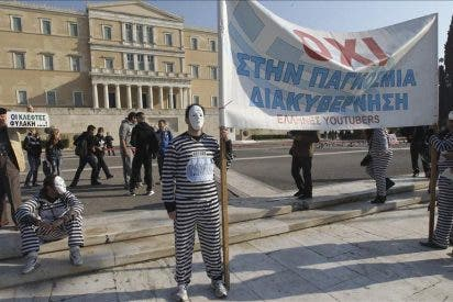 Primera huelga general del año en Grecia contra las exigencias de la troika