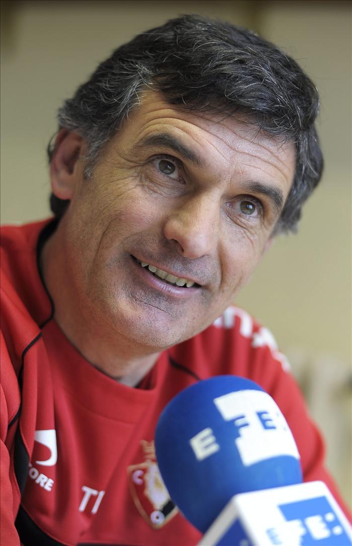 """Mendilibar dice que el balance de su primer año en el Osasuna """"es muy bueno en todos los sentidos"""""""
