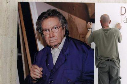"""El Gobierno francés sitúa a Tàpies a la altura """"de sus amigos Miró y Picasso"""""""