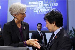 Japón sopesa contribuir en el FMI para rebajar la tensión en Europa