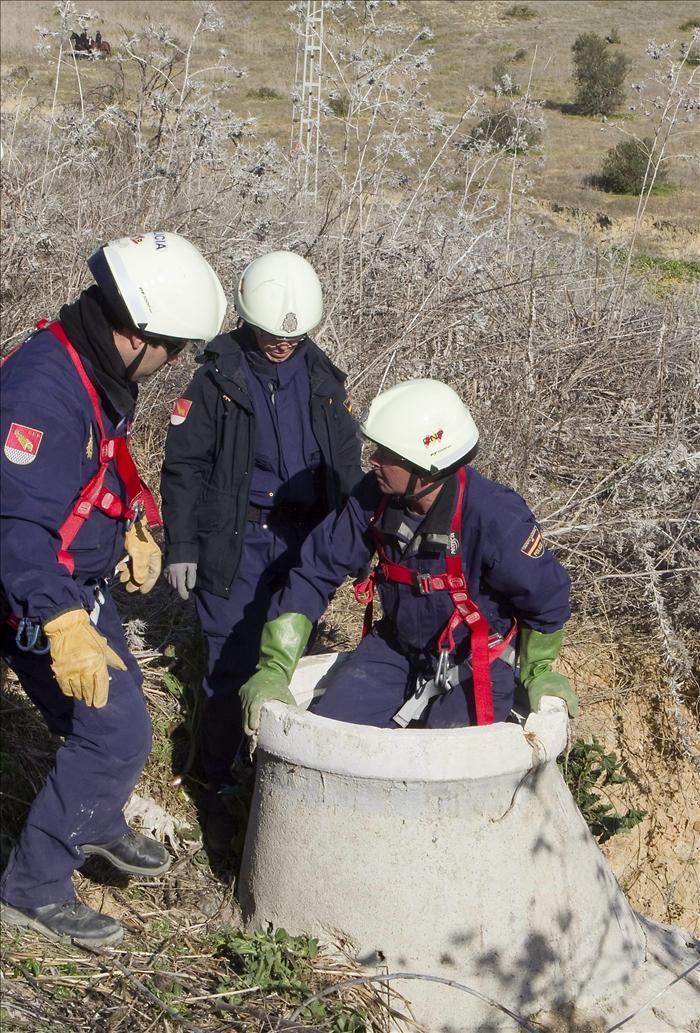 La Policía busca a Marta en una zona más alta pero sigue sin hallar indicios
