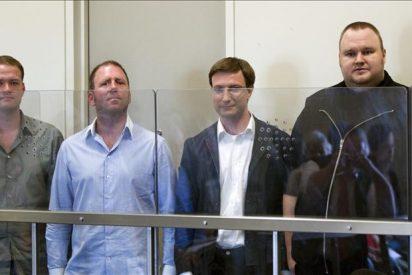 Libertad condicional al cofundador de Megaupload por un tribunal neozelandés