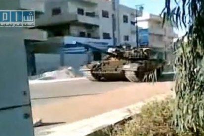 Los tanques del Ejército sirio irrumpen en la ciudad de Deraa