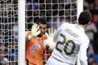 """Higuaín y """"Lass"""" trabajaron en solitario en el entrenamiento del Real Madrid"""