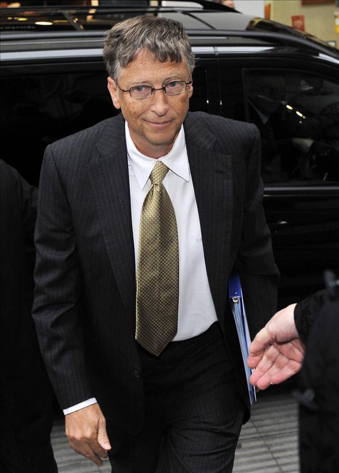 El presidente del Gobierno recibe al cofundador de Microsoft Bill Gates