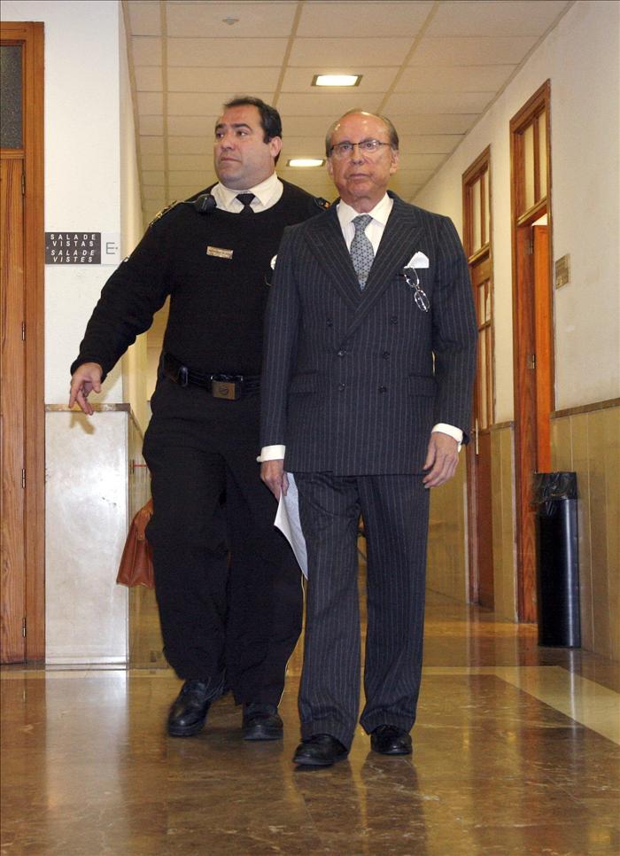 Ruiz-Mateos, citado de nuevo hoy en Palma por una supuesta estafa