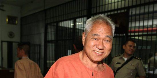 Siete años de cárcel para un activista tailandés por delito de lesa majestad