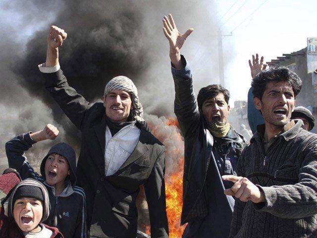 Ocho muertos en Afganistán por protestas por la quema del Corán
