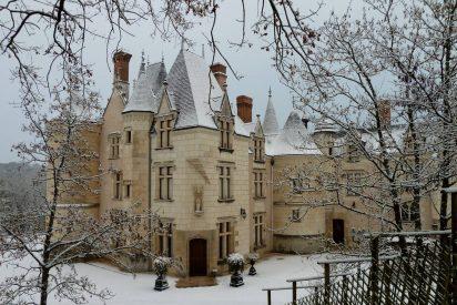 Mil y un corazones en el delicioso Château de Brou (Noyant de Touraine, Turena, Francia)