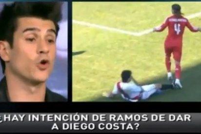 """Álvaro Benito, en 'Punto Pelota': """"Diego Costa va buscando el brazo de Sergio Ramos con la cara"""""""