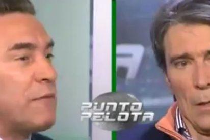 """Paco Buyo y Lobo Carrasco, enfrentados en lo personal en 'Punto Pelota': """"¿Cuántas Copas de Europa tienes?"""""""