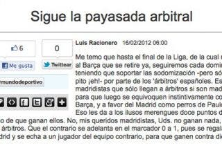 """La prensa deportiva catalana llora en grupo por el """"saqueo arbitral"""""""
